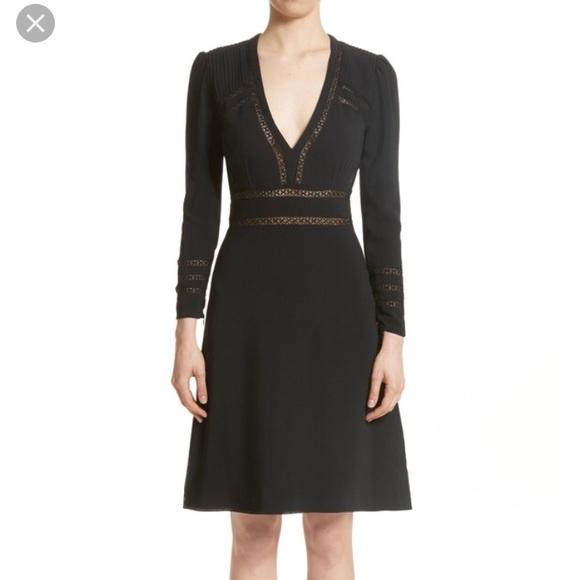 burberry long sleeve dress